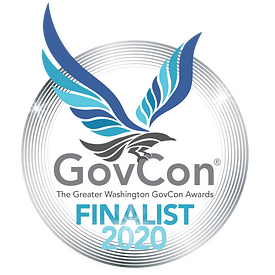 Logo of Greater Washington GovCon Finalist 2020 Award